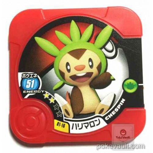 Pokemon 2014 Chespin Torretta Coin #01-16