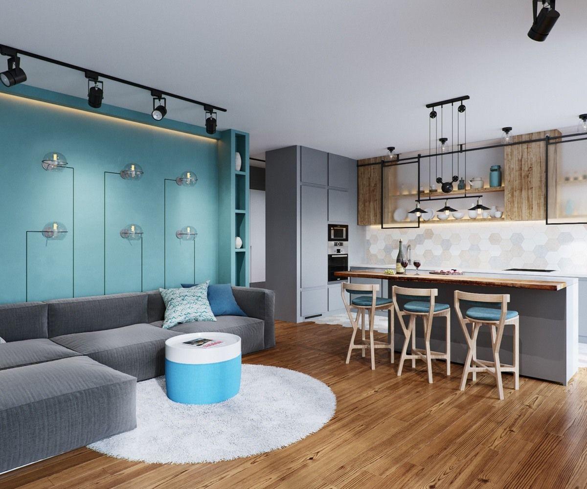 22 Beautiful Kitchen Design For Loft Apartment: Browse More Interior Design Ideas At: Https://artplanat