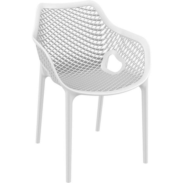 Curnutt Stacking Dining Arm Chair (13.270 RUB) ❤ liked on ...
