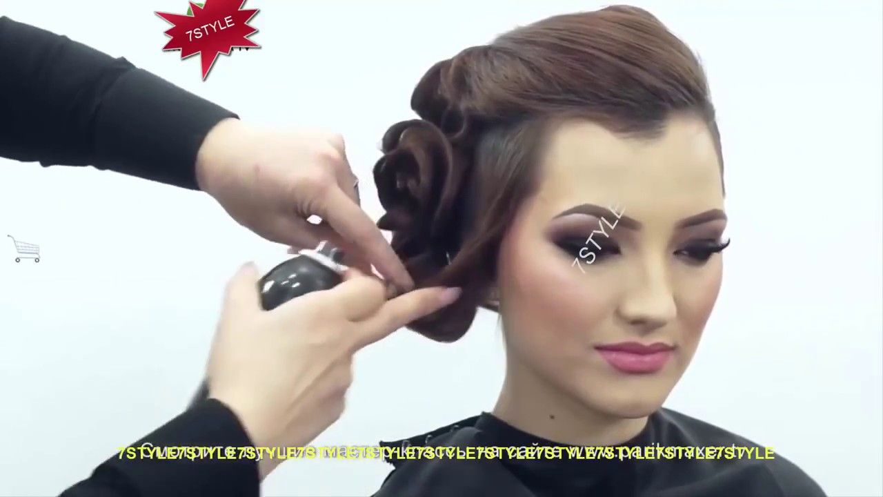 How to make easy party hair styles ladies beauty tips hair