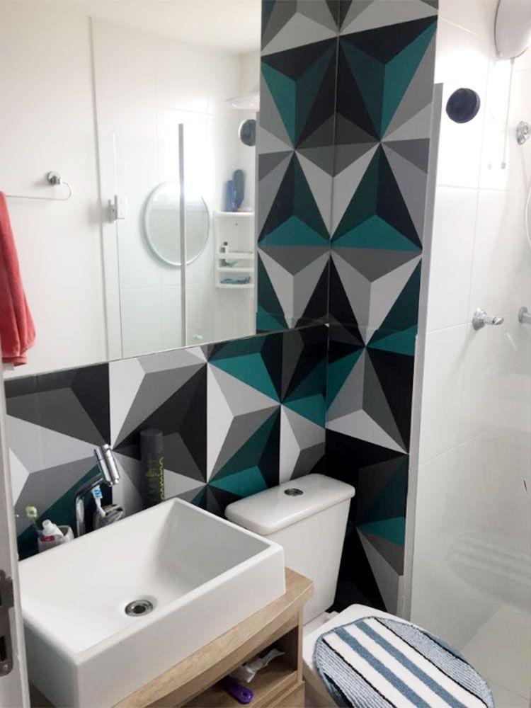 Adesivo Decorativo De Parede Para Banheiro Llx Visual 11 2626