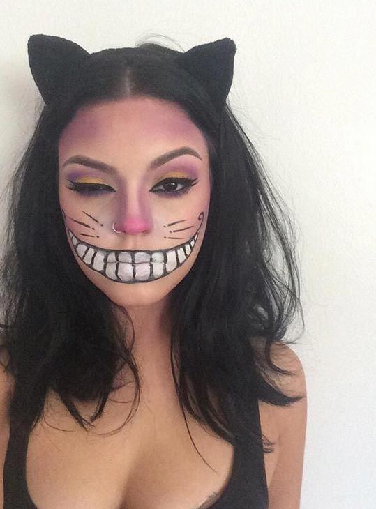 Unsere liebsten Make-up-Ideen für den Fasching  Eine Einladung zu einer Faschingsparty erhalten und keine Ahnung, als was du gehen sollst? Wir haben 8 kreative Ideen für dein Make-up!  #makeup #fasching #halloween #karneval #verkleiden #verkleidung #katze