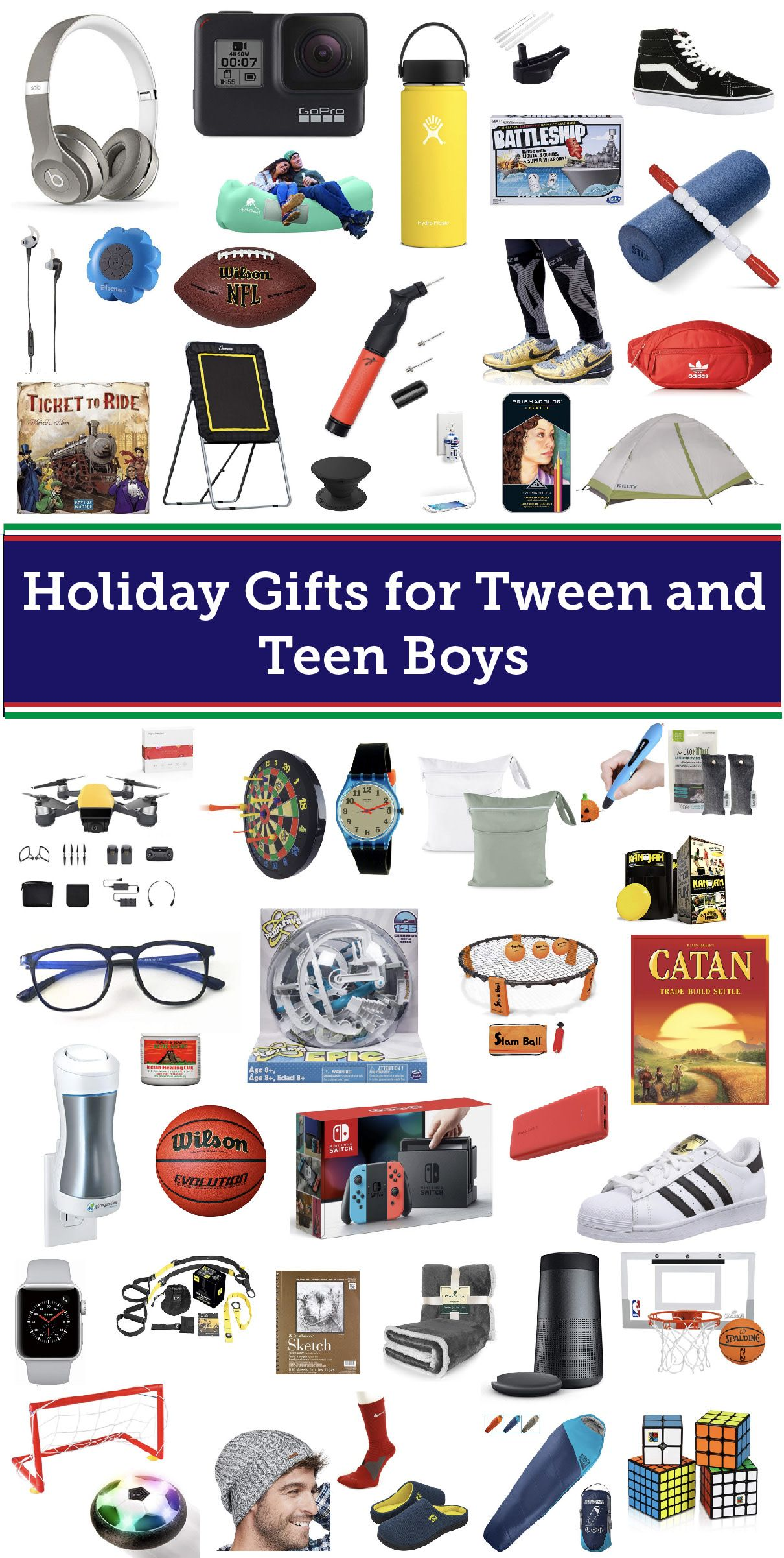 Best Gifts for Tween and Teen Boys in 2018