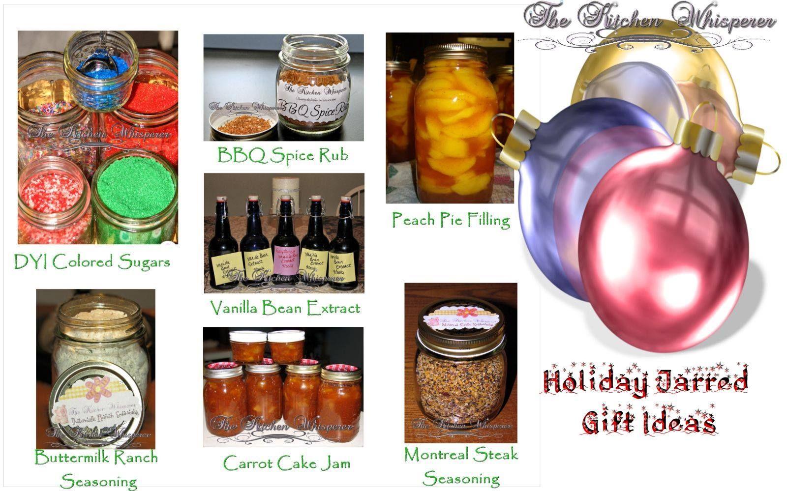 Jarred christmas gift ideas