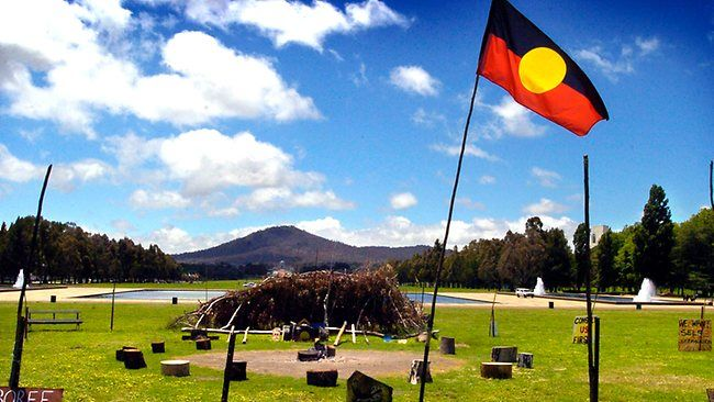The Aboriginal Tent Embassy in Canberra. & The Aboriginal Tent Embassy in Canberra. | Consulate Studio ...