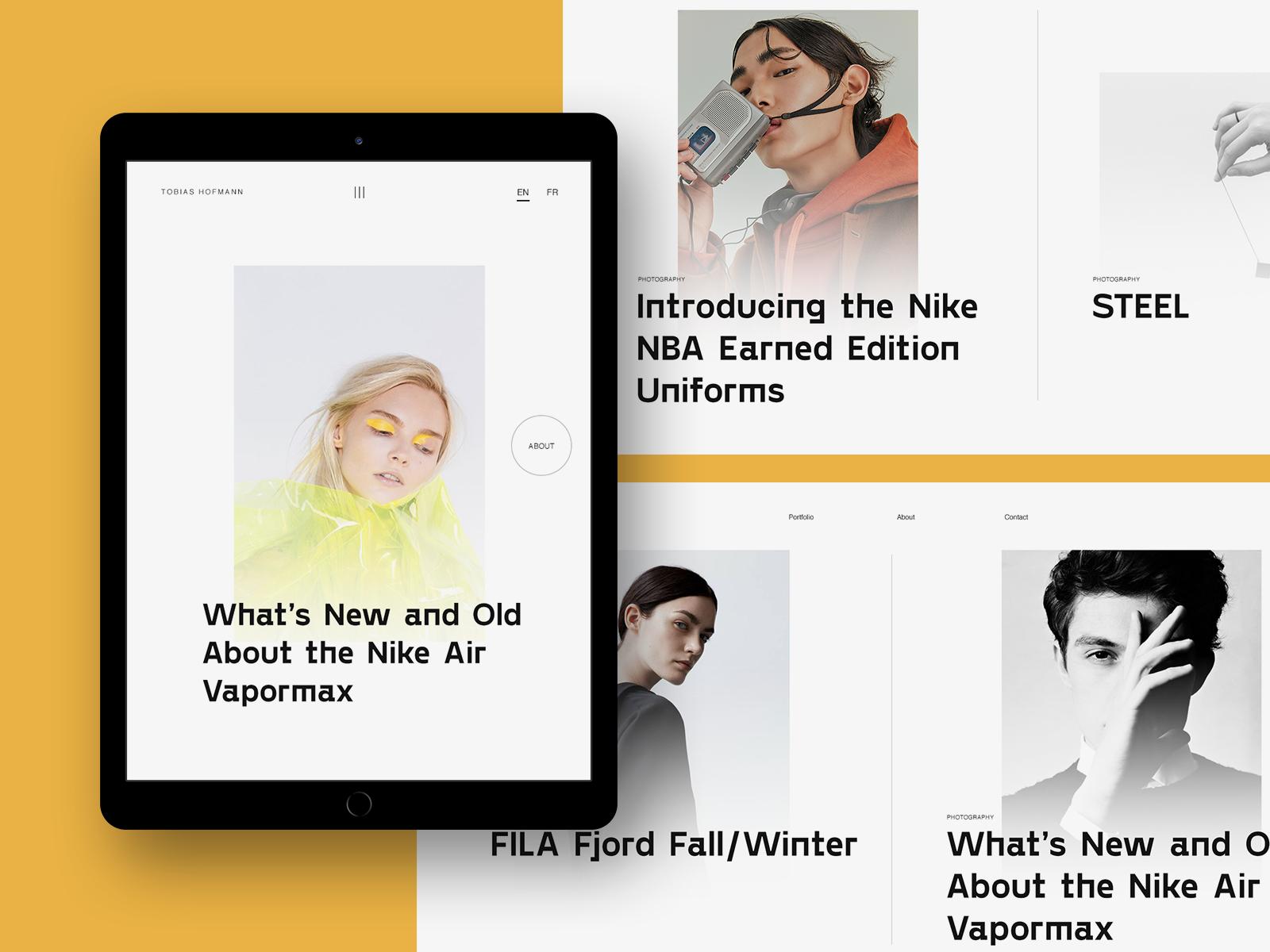 Experiments 11 Minimal Website Design Concept Web Experiments