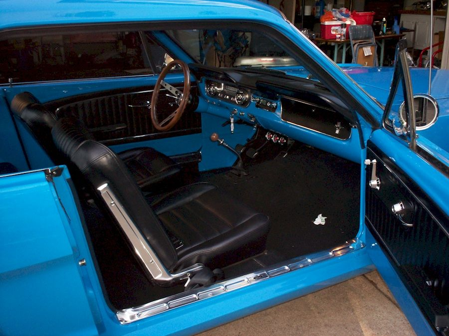 Custom Paint Shops Near Me >> 65 mustang with grabber blue paint | 65 Mustang Interior ...