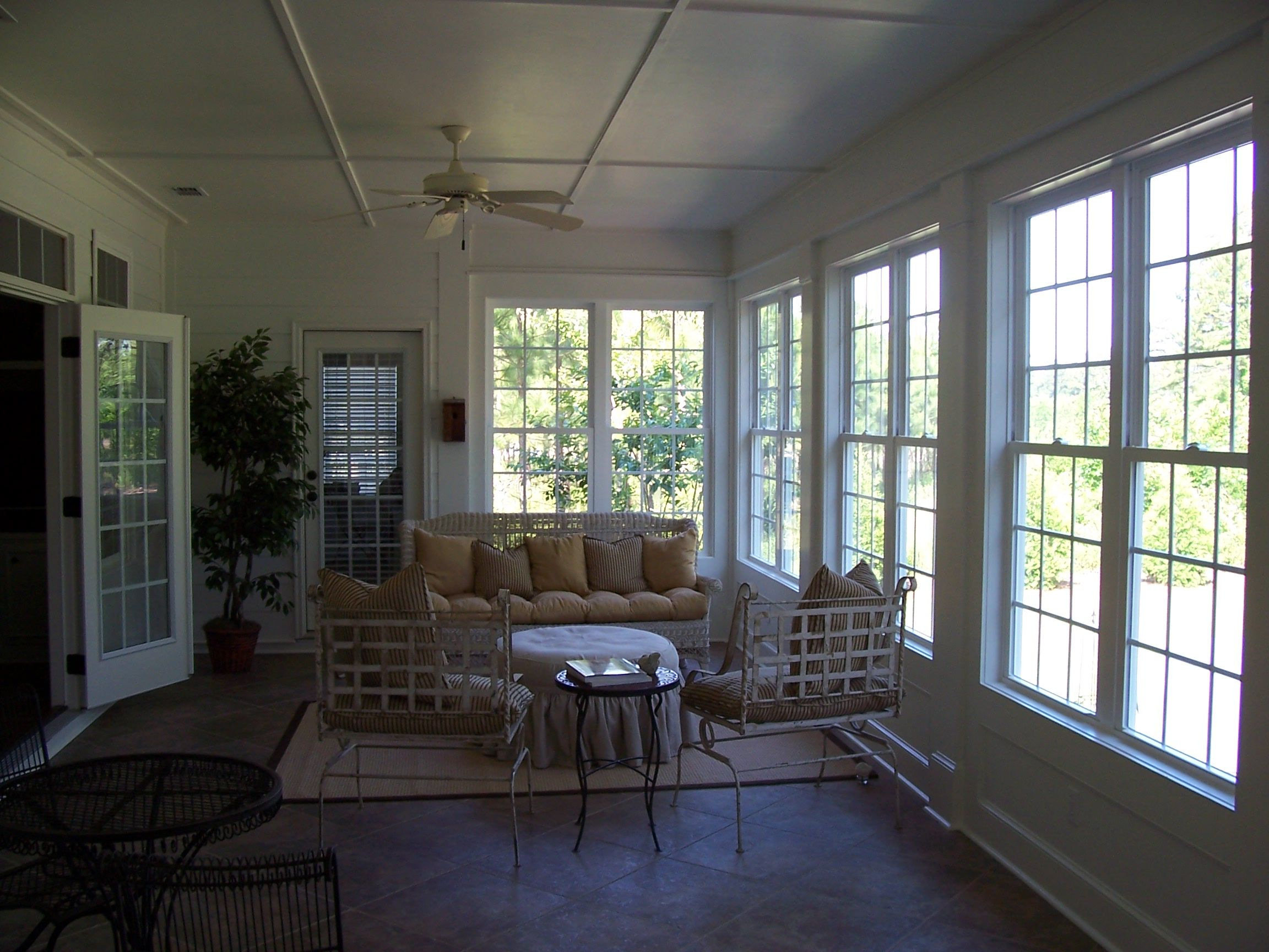 Remodel Project Screen Porch Before Being Converted Into A