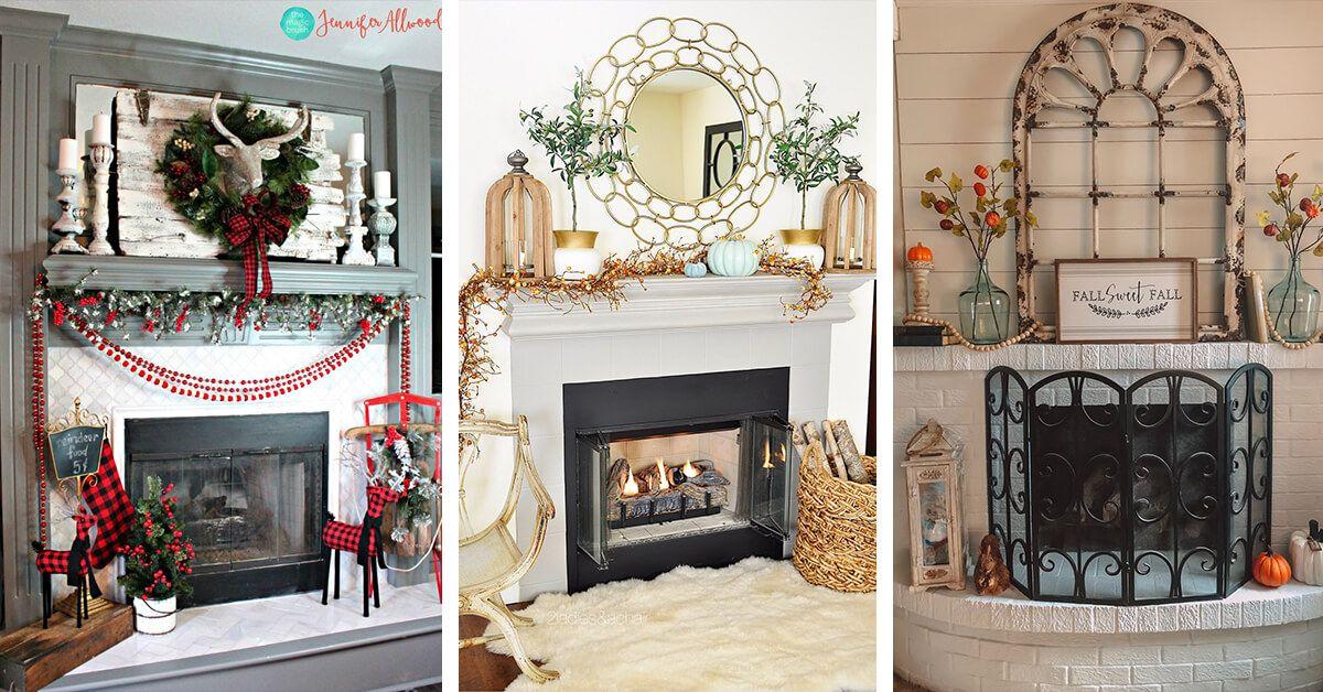 19 Heartwarming Fireplace Decor Ideas to Create a Cozy Atmosphere