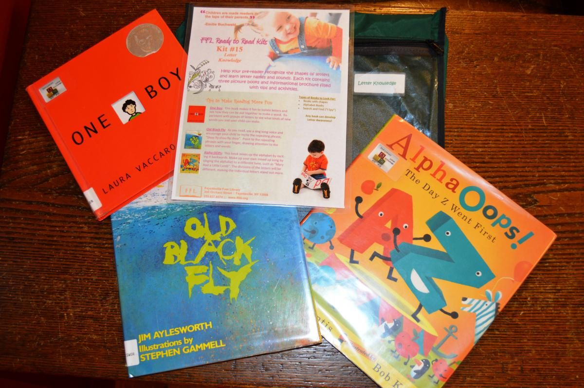 Ready to Read Kits (ages 2+) Talk, sing, read, write