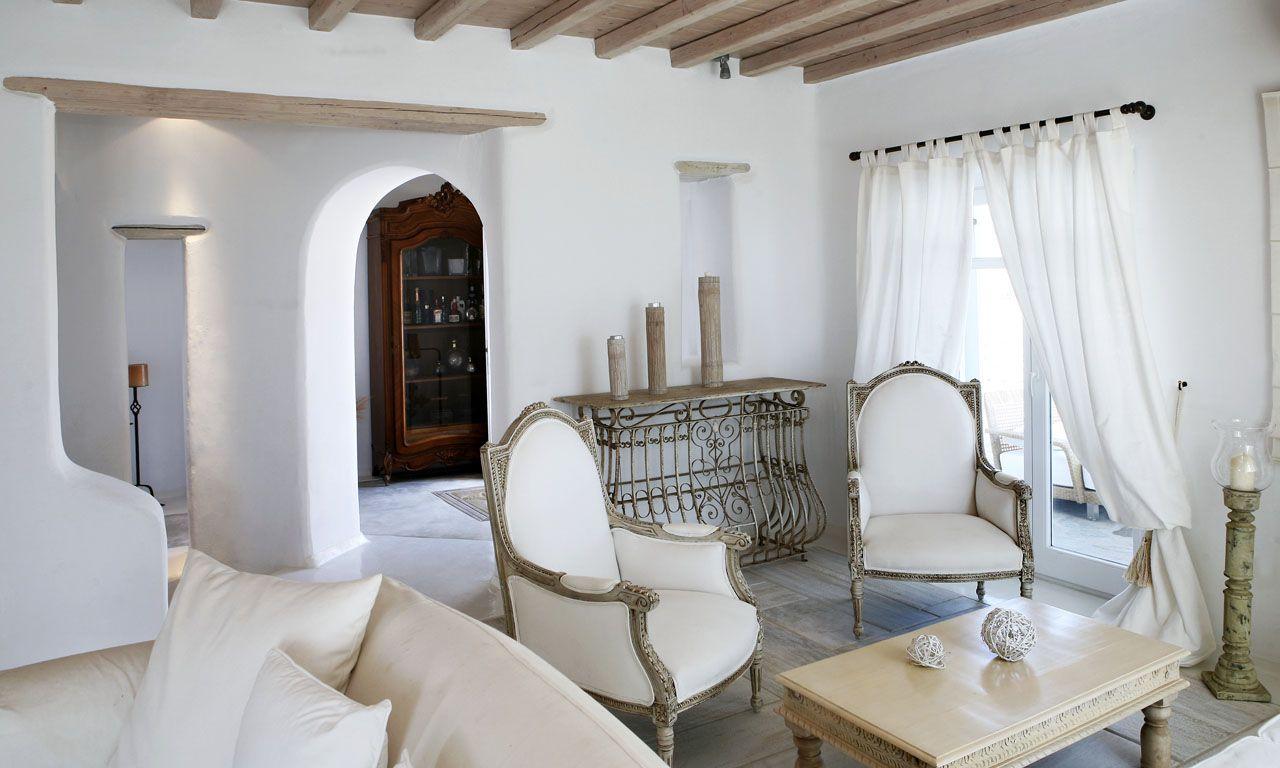Mykonos luxury villas villa white dream photos also rh pinterest