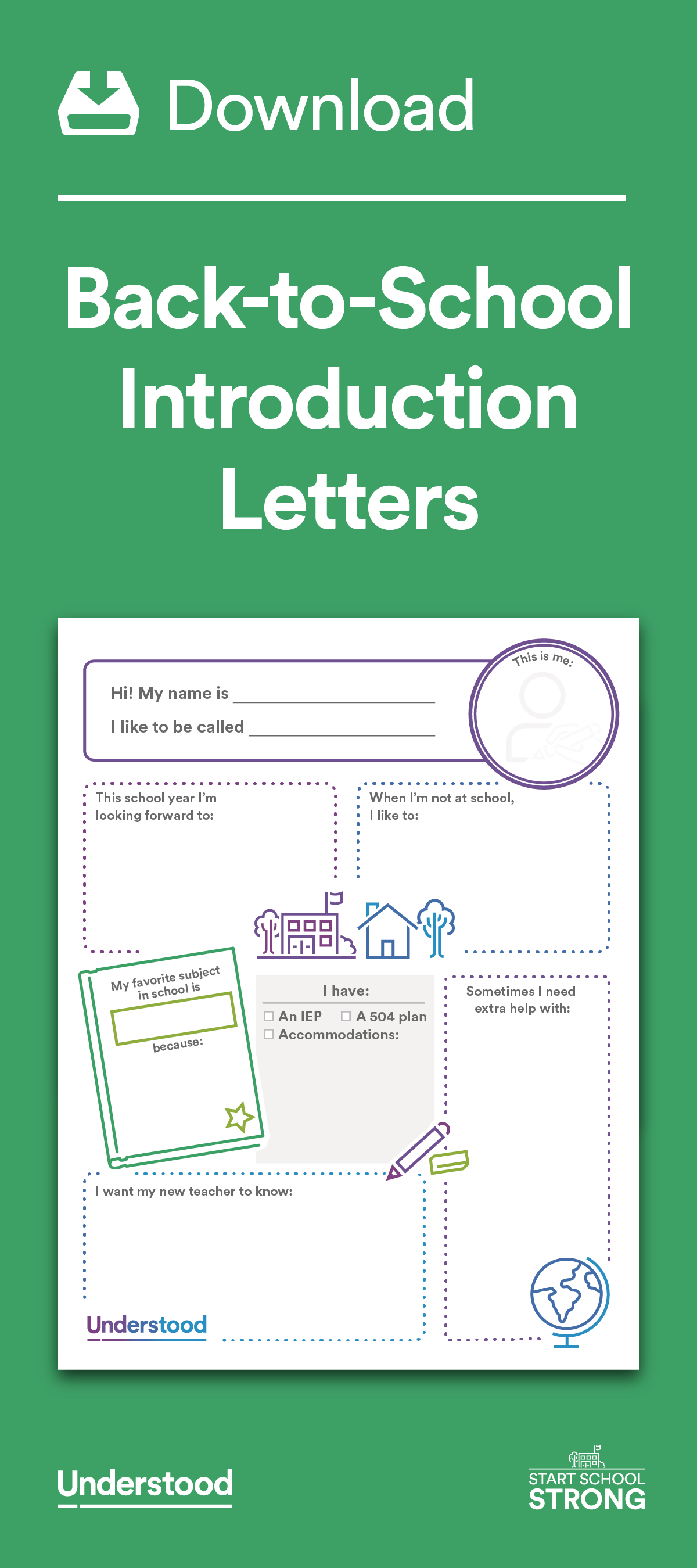 Download BackToSchool Introduction Letters  Introduction Letter