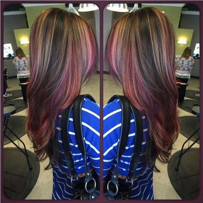 Hair color brown red blonde highlights new hair style hair color brown red blonde highlights pmusecretfo Gallery