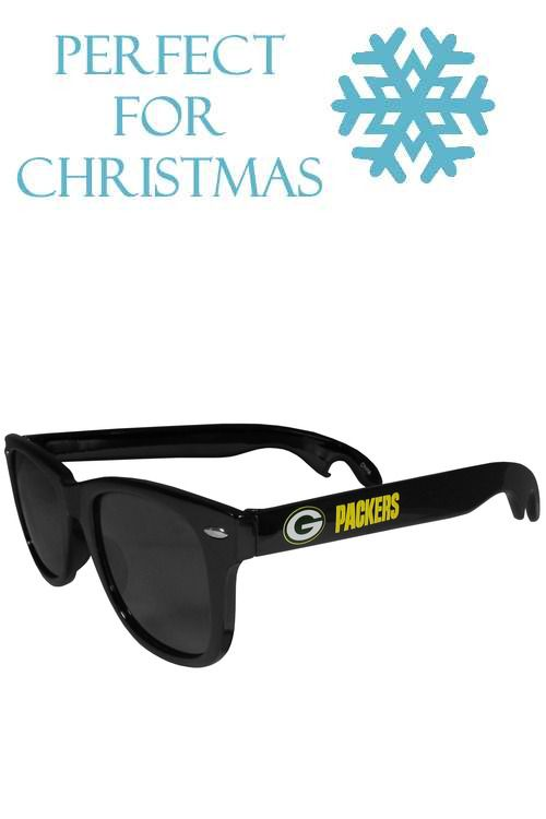 e510dd15c90 Green Bay Packers Beachfarer Bottle Opener Sunglasses