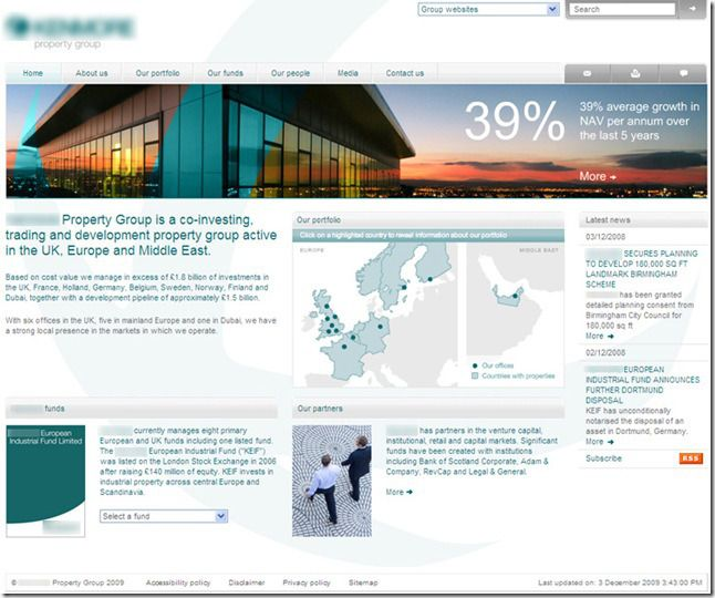 sharepoint intranet site examples | Design Favorites | Pinterest ...
