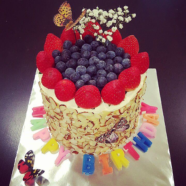 Beautiful watermelon cake