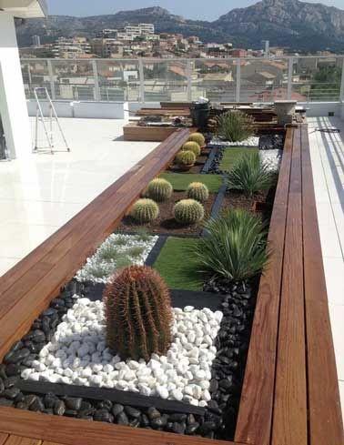 10 idées du0027aménagement terrasse inspirantes Backyard - toiture terrasse bois accessible