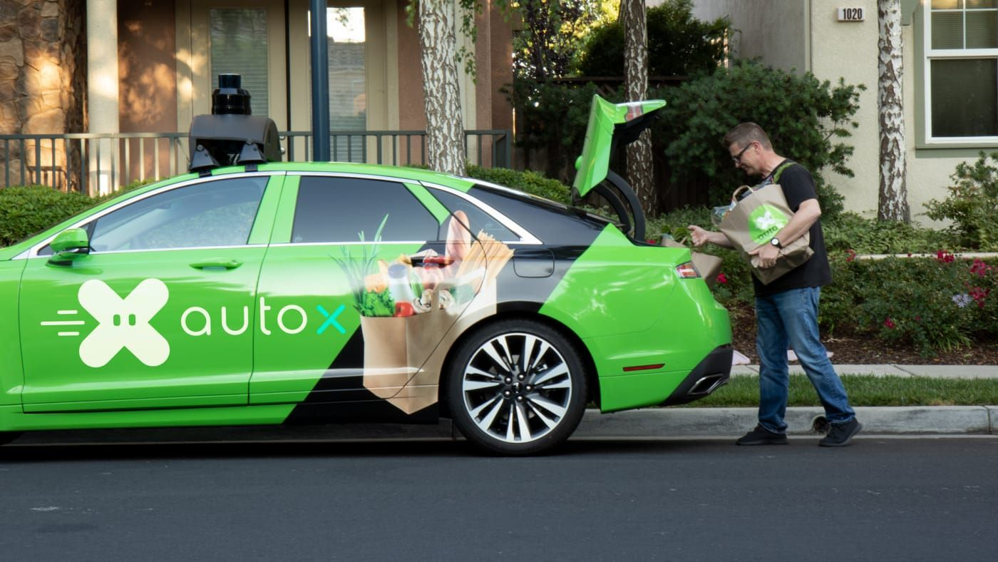 The world's first selfdriving grocery delivery cars are