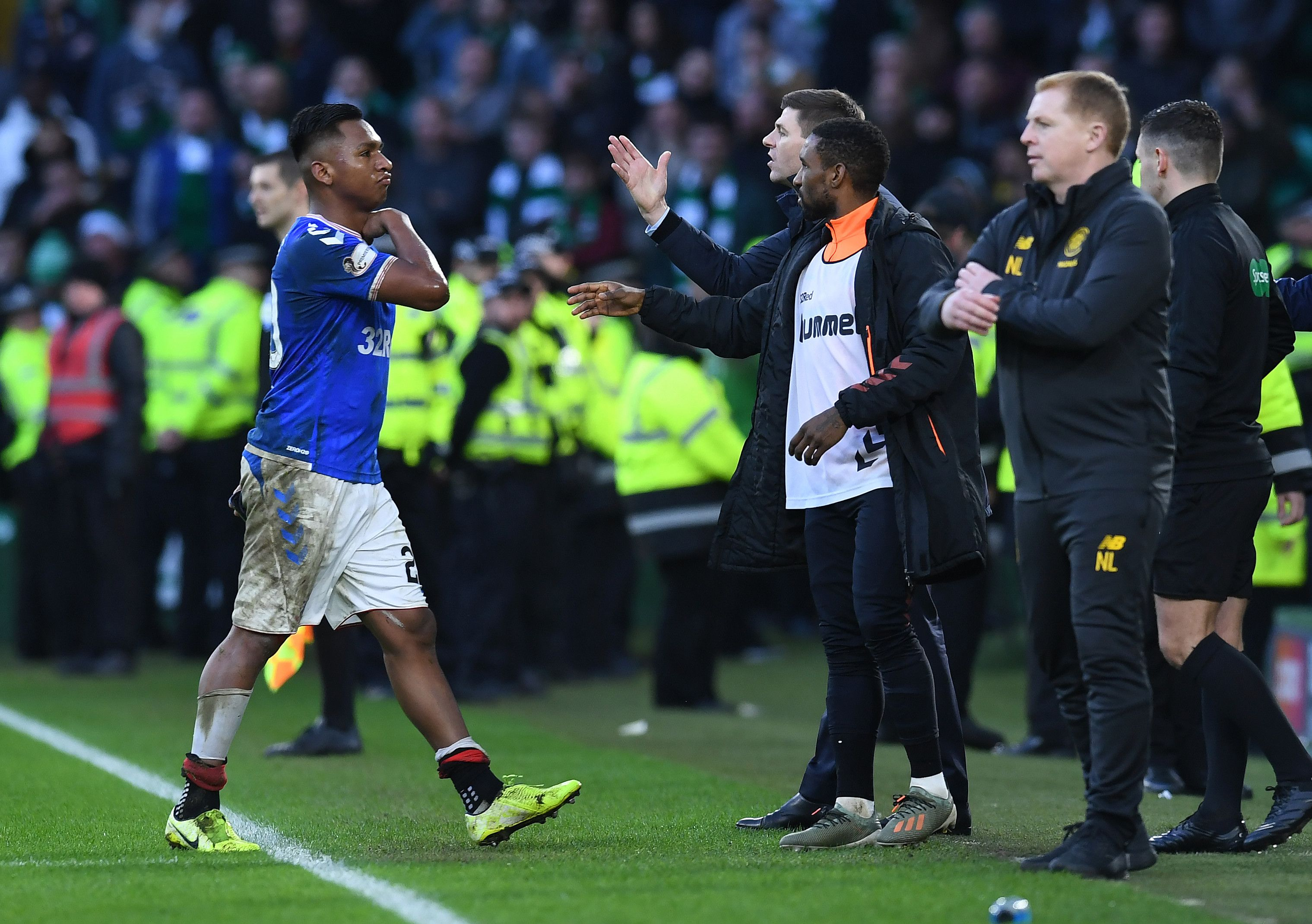 Rangers charged for failing to control players against Celtic and Hibernian but Alfredo Morelos and Ryan Kent avoid individual sanction for gestures