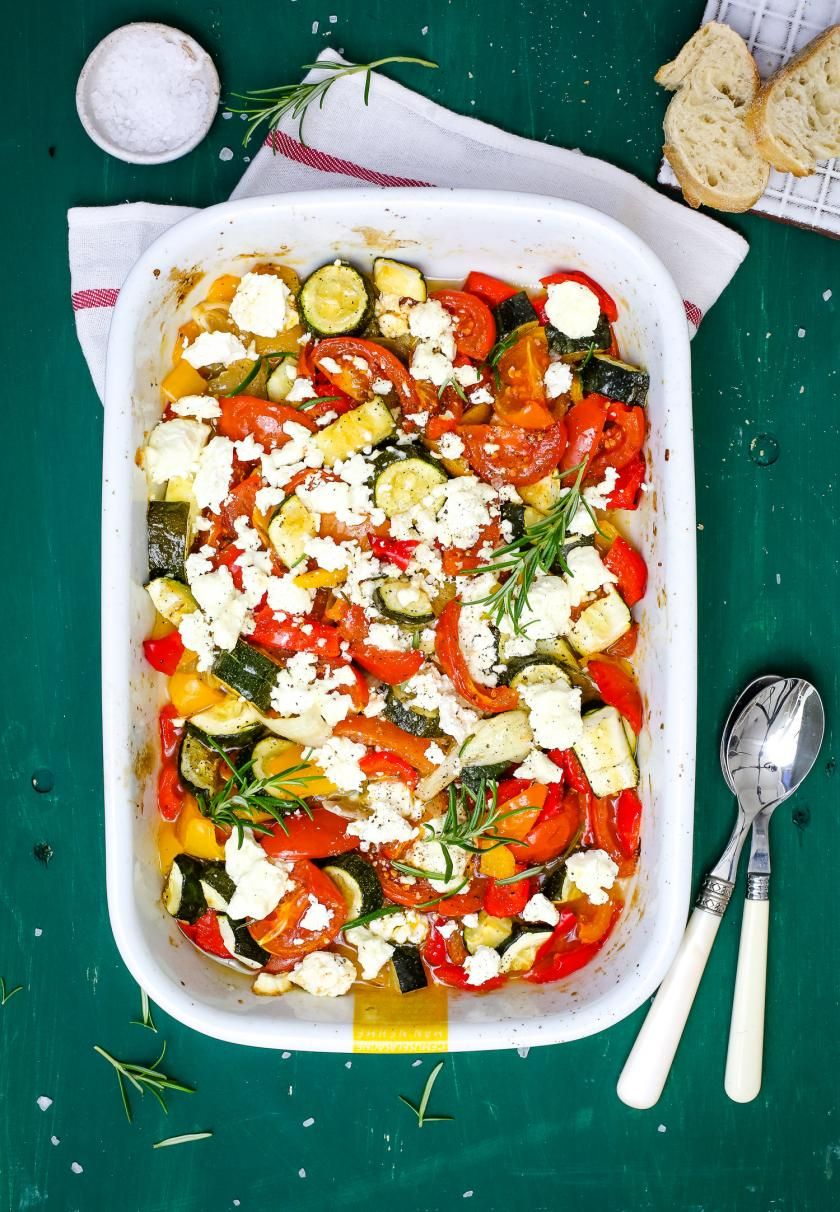 Photo of Ovened vegetables with feta