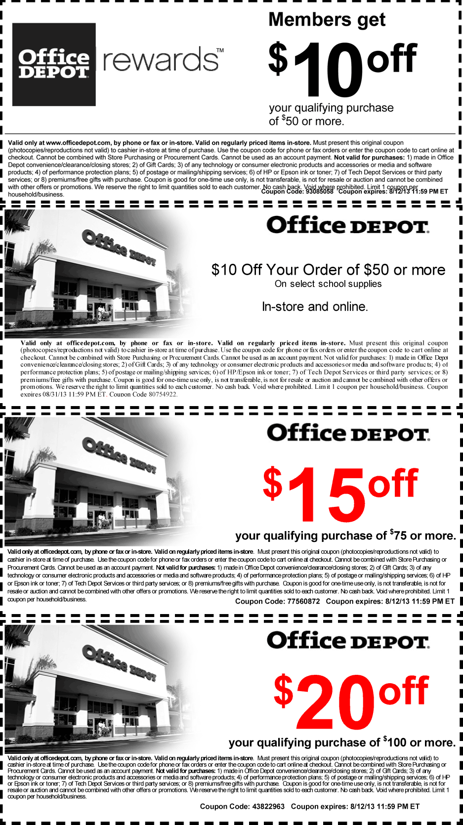 Office Depot Deal! Coupon apps, Coupons, School supplies