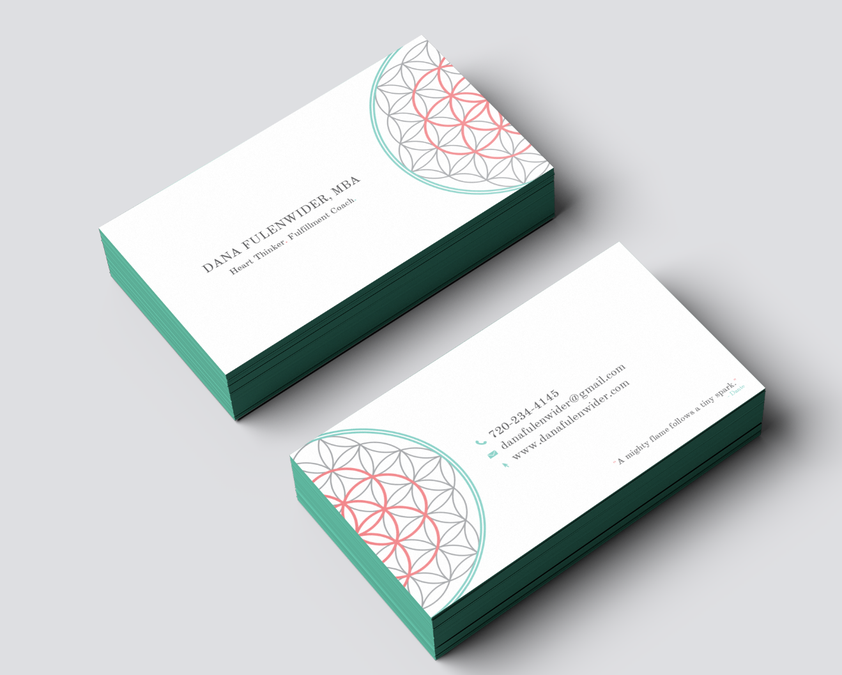 freelance Please create a clean and captivating business card for ...