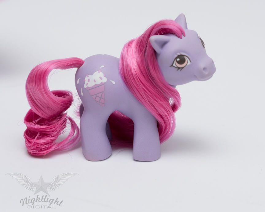 My Little Pony Vintage Custom Baby Pony Sweet Scoops Ebay