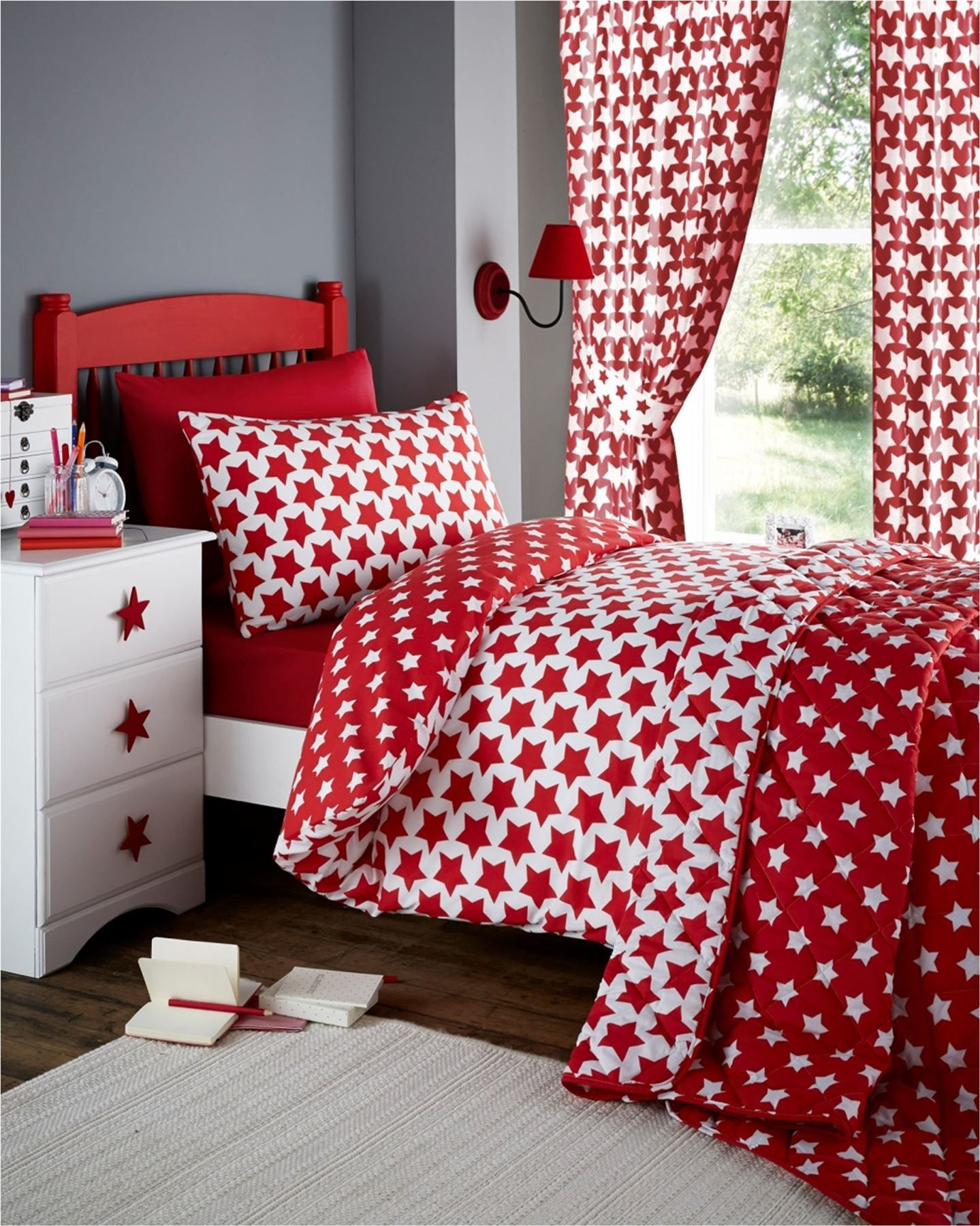S Childrens Quilt Duvet Cover Pillowcase Bedding Sets Or Matching Curtains