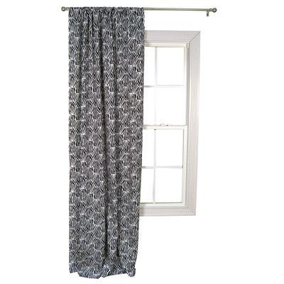 Trend Lab Zebra Single Drape Panel