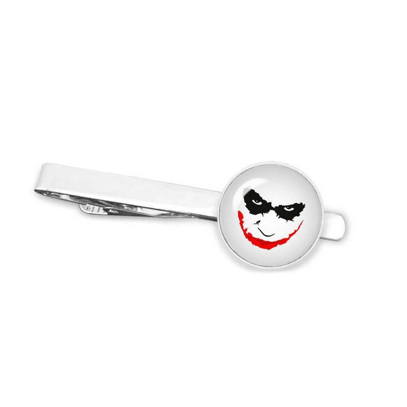 Joker Cuff Links Villains Cuff Links 16mm Cufflinks Gift for Men Groomsmen Fandom Jewelry