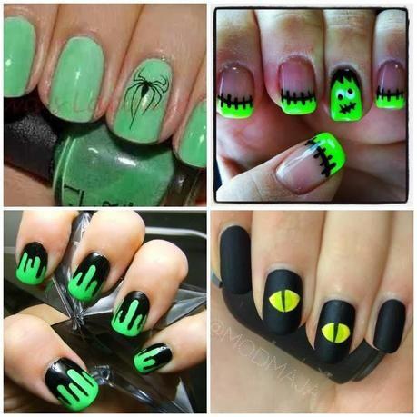 classy halloween nail art  google search  halloween nail