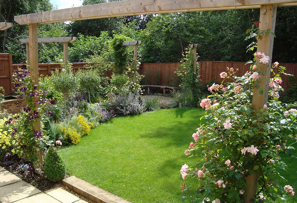 the awesome image below is part of improve your small home exterior by applying small garden design write up which is listed within ideas and published at - Flower Garden Ideas For Small Areas