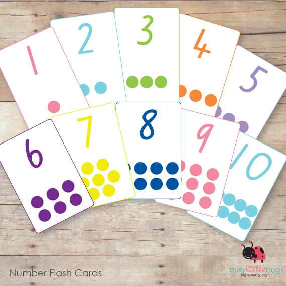 35 Best Printable Images On Pinterest: Free Printable Number Flashcards 1 30