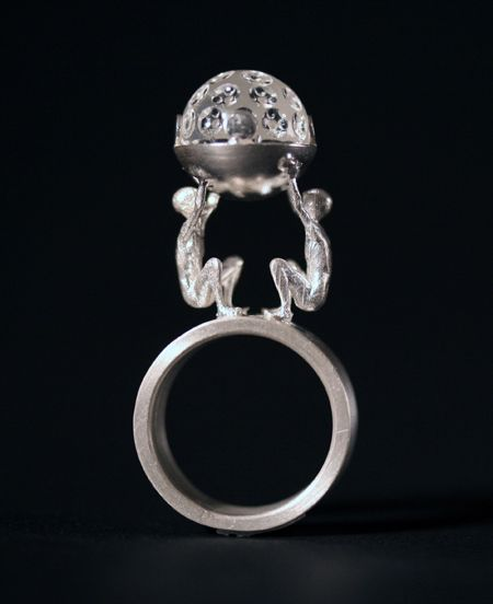 Moon Young Shin What Does Precious Mean Ring 2008 925 Silver