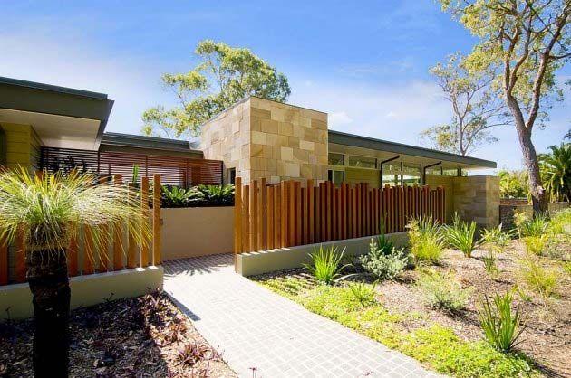 Maori Modern Architecture Fence Architecture Home Design Ideas Breathtaking Entrance Design Modern Landscape Design Modern Landscaping House Designs Exterior