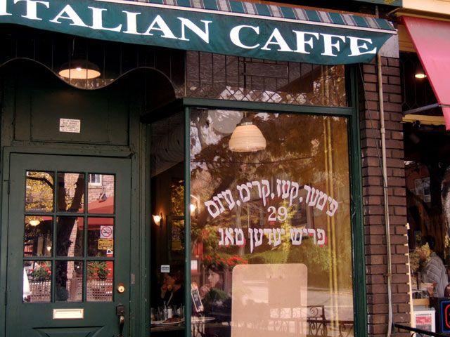Best Lasagna, Johns Italian Caffe on Baldwin St.