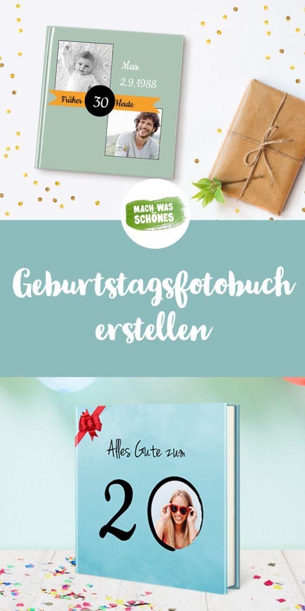 Geburtstagsbuch erstellen - So geht's | Geburtstagsbuch ...