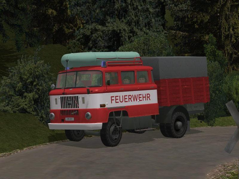 IFA W 50 Feuerwehr RTGW mit Tauschtextur. Ab #EEP8 http://bit.ly/IFA-W-50-Feuerwehr-RTGW