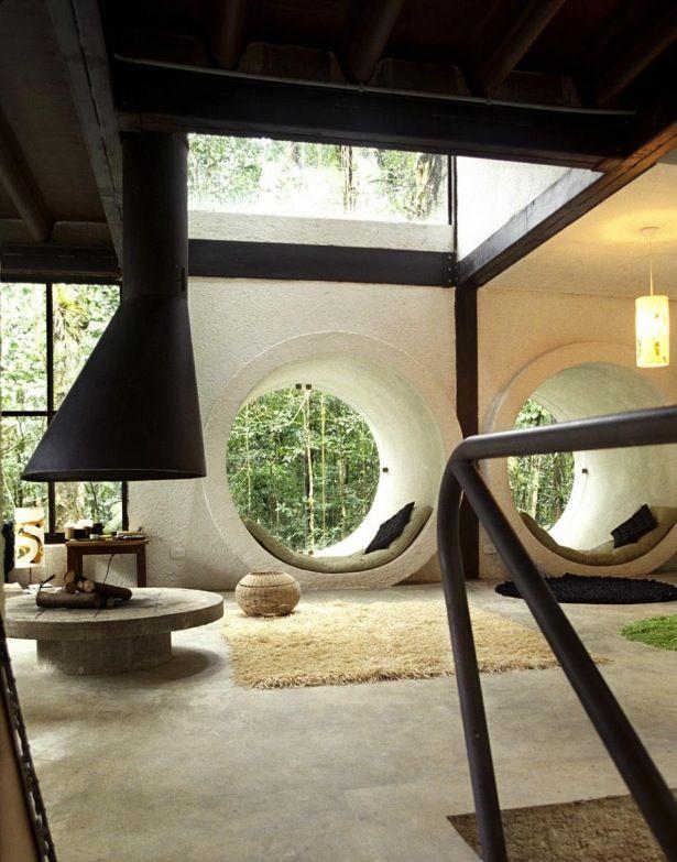 Circular Window Cave Nook Windows Pinterest