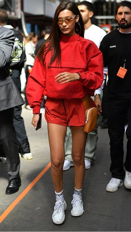 These Stylish Celebs Have the Streetwear Game on Lock: Bella Hadid #celebrity #streetstyle #fashioninspo