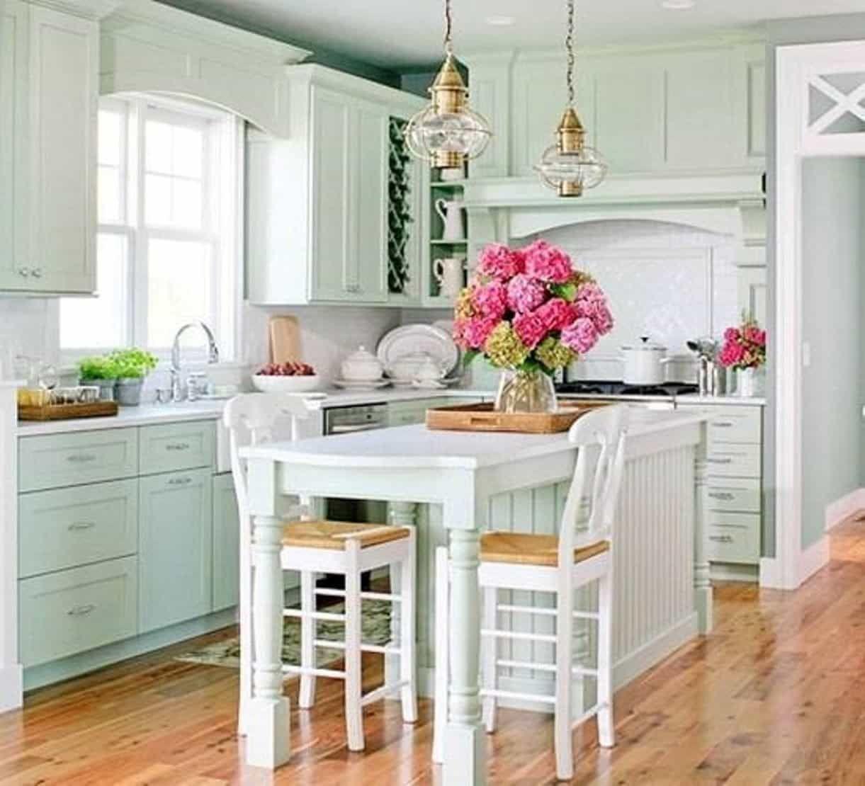 Gemütliche Cottage Stil Küche Ein Ferienhaus Küche sollte Ihre ...