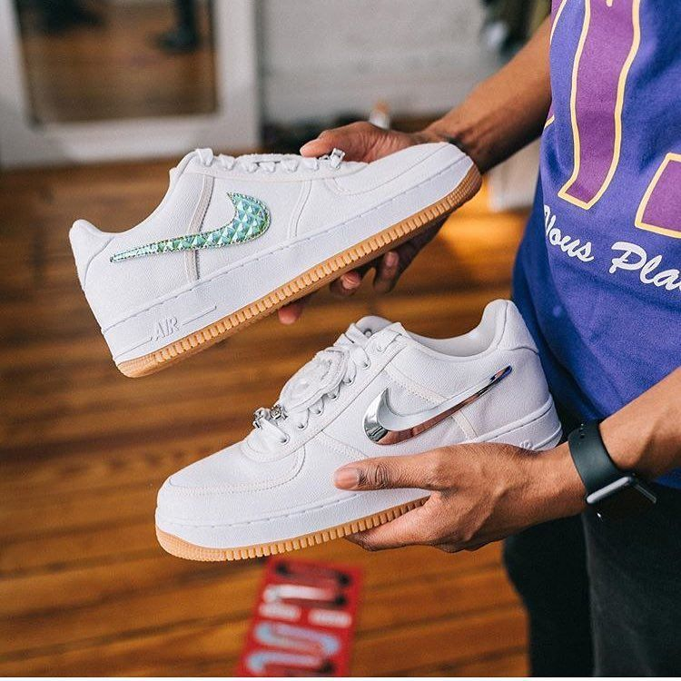 Travis Scott X Nike Air Force 1 Low Nike Nike Air Force Sneakers