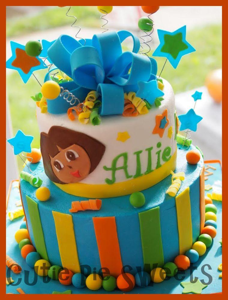 Dora Birthday Cake Partay Pinterest Dora birthday cake