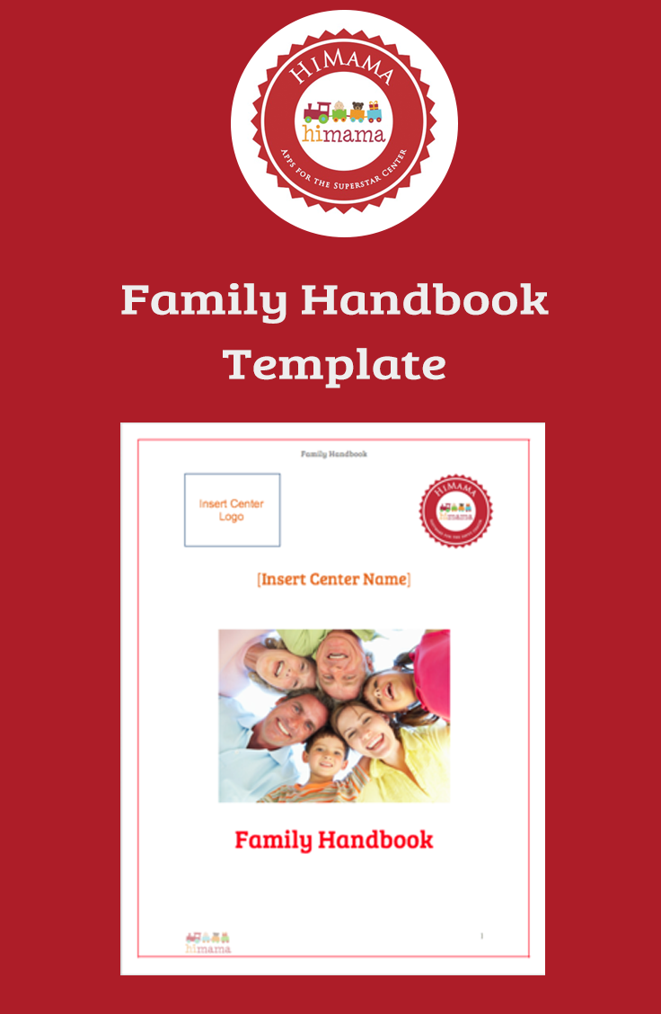 Download HimamaS Free Family  Parent Handbook Template