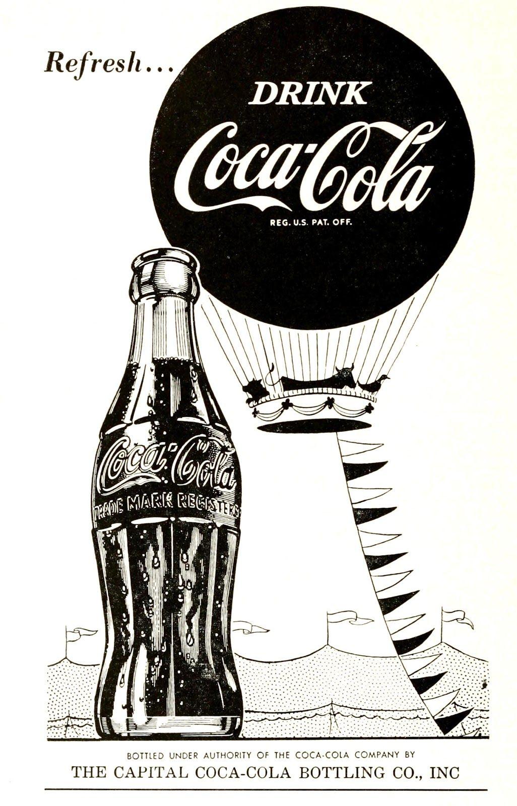 Retro Coca Cola advert