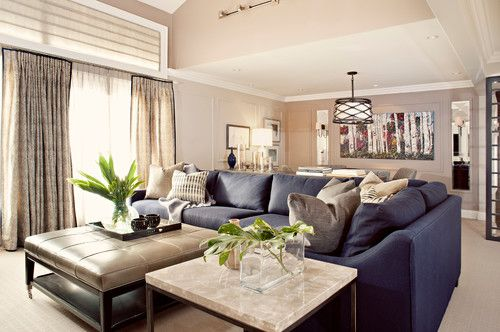 Navy Couch Design Pictures Remodel Decor And Ideas Page 2 Blue Couch Living Room Leather Sofa Living Room Blue Sofas Living Room