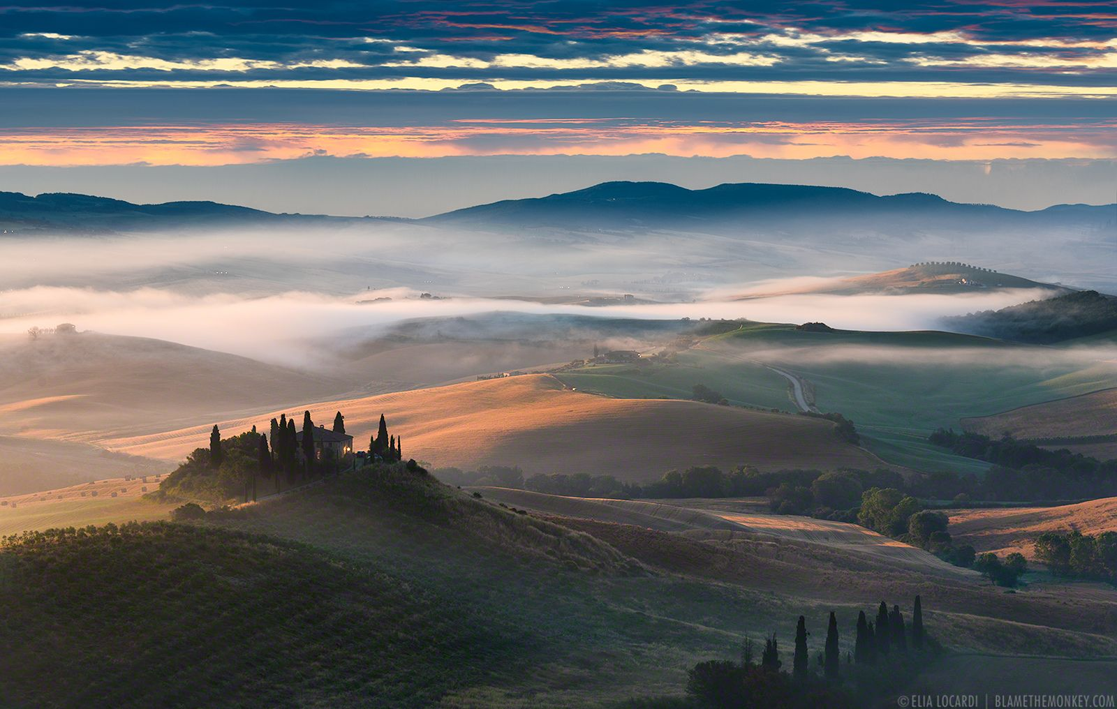 Misty Melody || Tuscany | Colors and light blend beautifully… | Flickr - Photo Sharing!