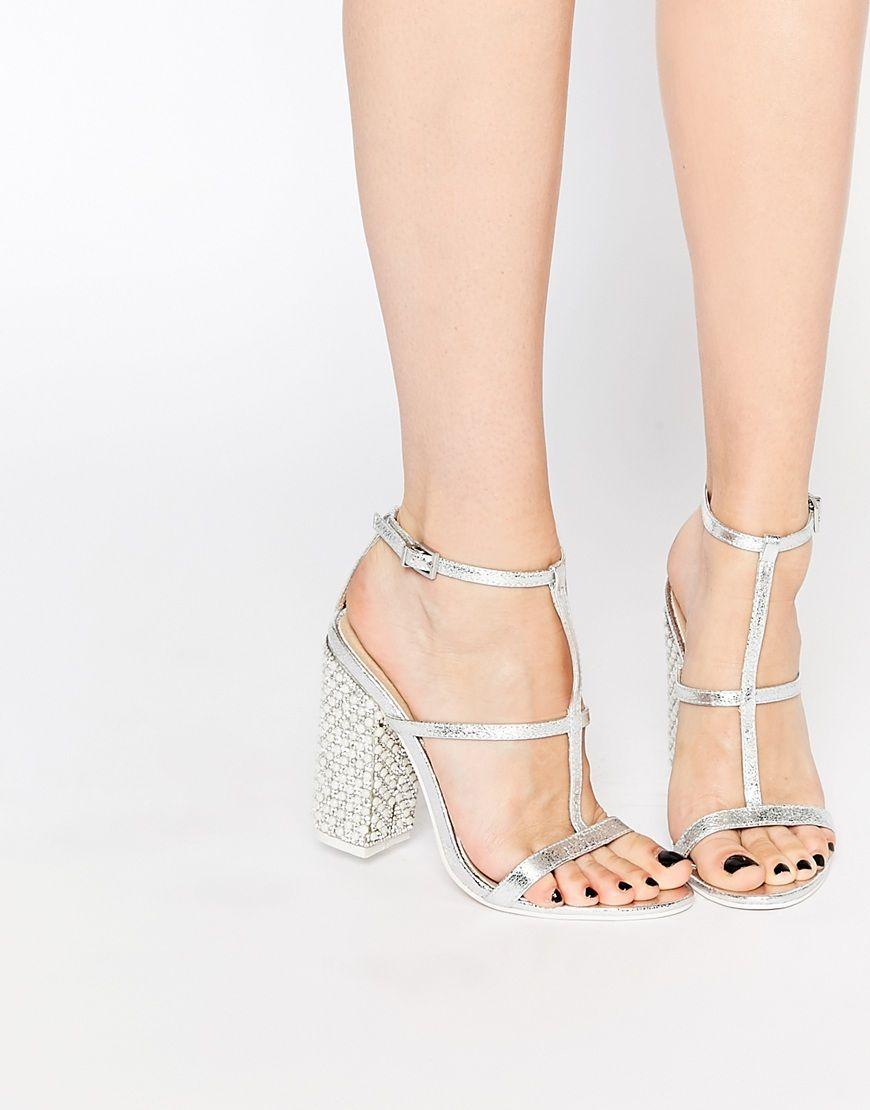 3271a1634887 Asos  silver  metallic  shoelust