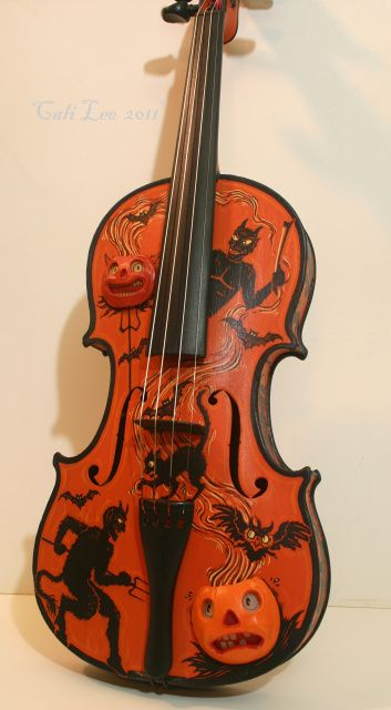 Pin by Sandy Chavarria on Vintage Halloween Decor Pinterest - halloween decorations on pinterest