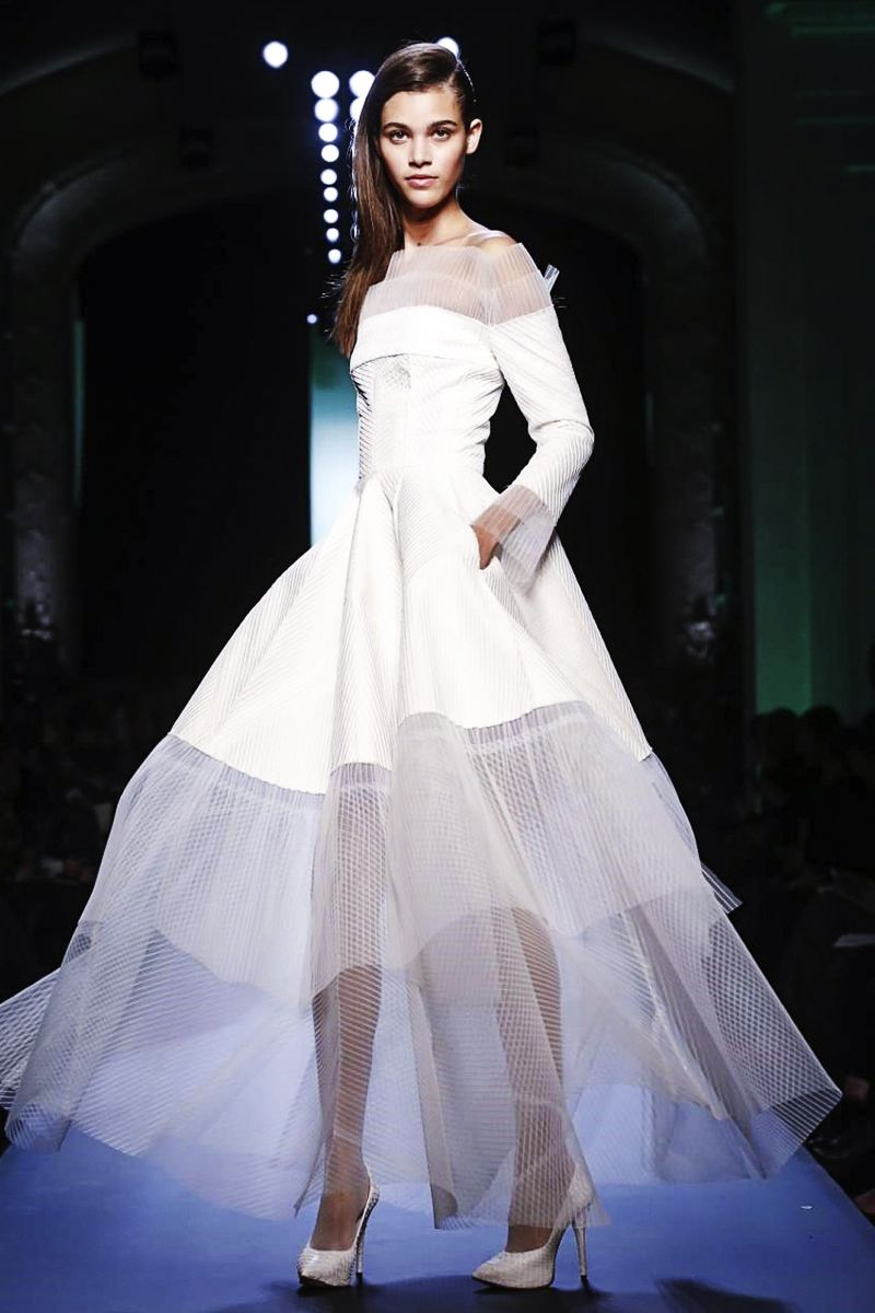 Haute couture by Jean Paul Gaultier 2015 love the design